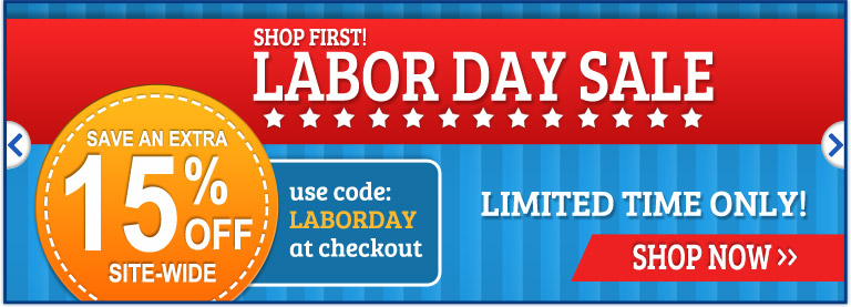 Labor Day Sale Starts Now!