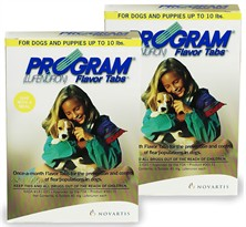 12 MONTH PROGRAM Brown: For Dogs up to 10 lbs