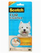 3M Scotch FurFighter Dog Hair Remover Refills (8 Sheets)