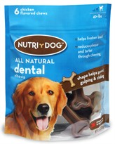 3M Nutri-Dog All Natural Dental Chews LARGE (6 ct)
