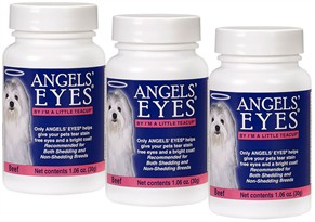 3 PACK Angels Eyes Beef Flavor for Dogs (90 gm)