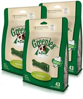 Greenies - 3 PACK TEENIE (129 BONES)