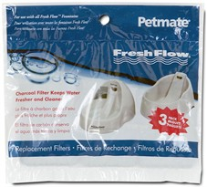 Petmate� Fresh Flow Replacement Filter 3 Pack