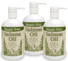 3-PACK Simply Wild Salmon Oil (51 fl oz)