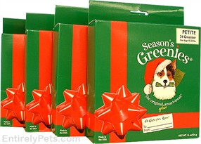 4-PACK Greenies HOLIDAY Value Pack JUMBO (16 bones)