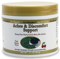 Aches & Discomfort Support Powder Salmon Flavor for Cats (3.1 oz)