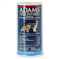 Adam's Flea & Tick Dust II (3 oz)