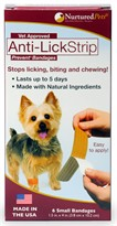Nurtured Pets Anti-Lick Strip Prevent - Small (Pack of 6)