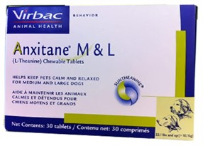 Virbac Anxitane M & L  (30 Tabs)