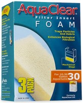 AquaClear 30 Filter Insert Foam (3 pack)