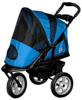 AT3 Generation 2 All-Terrain Pet Stroller (BLUE)