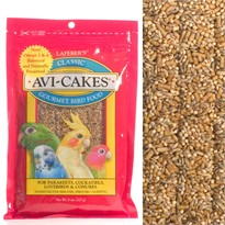 Lafeber's Avi-Cakes - Parakeets, Cockatiels, LoveBirds & Conures (8 oz)