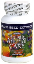 Azmira Holistic Animal Care Grape Seed Extract (60 Capsules)