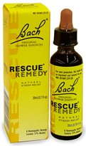 Bach Rescue Remedy - Natural Stress Reliever (20 mL)