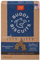 Cloud Star Buddy Biscuits - &quot;Itty Bitty&quot; Bacon & Cheese Madness (8 oz)