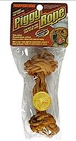 Beefeaters Piggy Rope Porkhide Bone - 7""