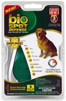 Bio Spot Defense with Smart Shield Applicator for Dogs (3 month) - Large 56-80 lbs