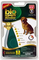 Bio Spot Defense with Smart Shield Applicator for Dogs (6 month) - Large 56-80 lbs
