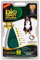 Bio Spot Defense with Smart Shield Applicator for Dogs (6 month) - XLarge 81 lbs and over