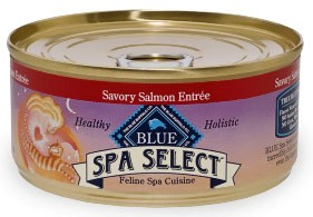 Blue Buffalo Spa Select Savory Salmon Entree for Cats - (24 pack) 5.5oz