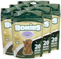 BONIES Natural Calming Multi-Pack MINI 6-PACK (120 Bones)
