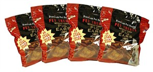 "Box of 100 Select Pig Ears (5-7"")"