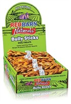 "25 PACK Redbarn 7"" Braided Bully Stick"