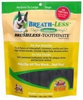Ark Naturals BREATH-LESS Brushless-Toothpaste - MED/LG (18 oz.)