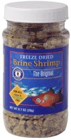 Freeze Dried Brine Shrimp (1.36 oz)