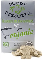 Organic Buddy Biscuits Roasted Chicken Madness (14 oz)