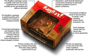 Bug Box Live Crickets (50 ct.)