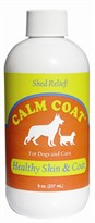 Calm Coat Healthy Skin/Coat and Shed Relief (8oz)