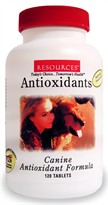 RESOURCES Canine Antioxidant Formula (120 Tablets)