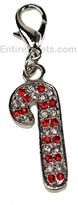 Holiday Jewel Collar Charms - CANDY CANE