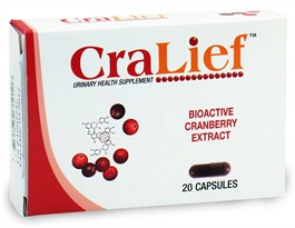 Cralief Urinary Health Supplement (20 Capsules)