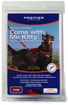 Come with Me Kitty Harness & Bungee Leash - LARGE / ROYAL BLUE