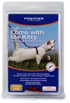 Come with Me Kitty Harness & Bungee Leash - SMALL / LILAC