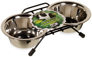 Catit Stainless Steel Double Cat Diner