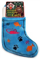 Kyjen Plush Puppies Meow Cat Stocking - Medium