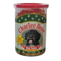 Charlee Bear Dog Treats with Cheese & Egg - 17 oz