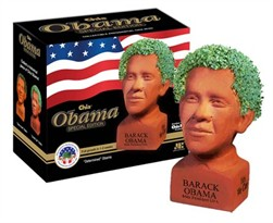 Chia Pet Obama - Determined