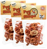 3 Pack Pet 'n Shape Chik 'n Rings (24 oz)