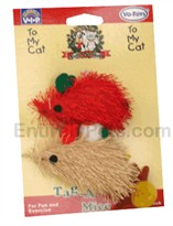 Christmas Tag-a-Long Mice � 2 PACK
