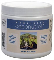 Wholistic Coconut Oil (16 oz)