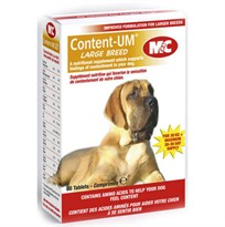 Mark & Chappell Content UM Large Breed For Dogs (60 Tabs)
