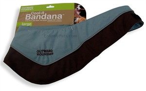 Outward Hound Cool-it Bandana - LARGE