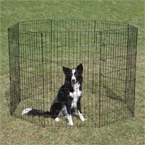 Crate Appeal Exercise Pen 24 Inch - Black