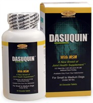 Dasuquin for Small/Medium Dogs under 60 lbs. with MSM (84 Chews)
