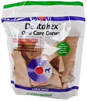 Vet Solutions Dentahex Oral Care Chews with Chlorhexidine for Dogs - Large (18 oz)