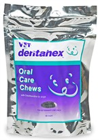 Vet Solutions Dentahex Oral Care Chews with Chlorhexidine for Dogs - Petite (30 count)